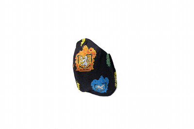 Harry Potter Houses - Cotton Face Mask with Filter Pocket