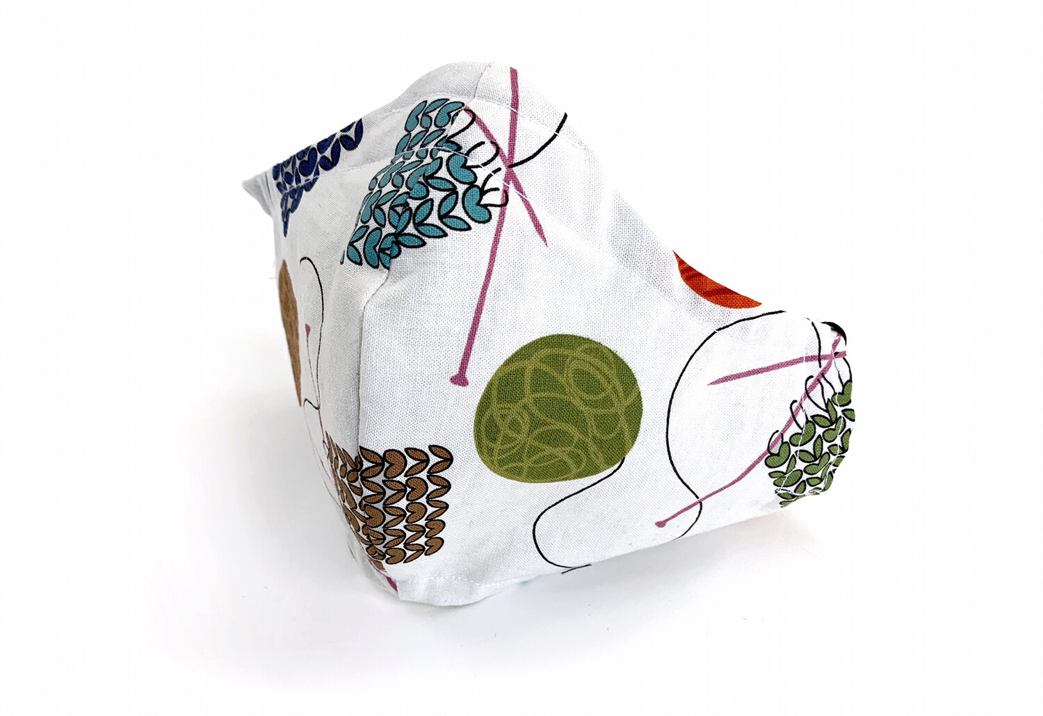 Needles and Thread - Cotton Reversible Face Mask