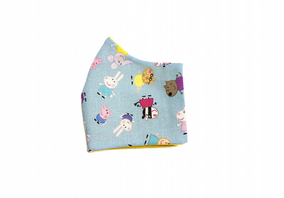 Peppa Pig - Cotton Face Mask with Filter Pocket