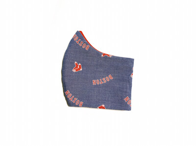 Red Sox - Cotton Face Mask with Filter Pocket