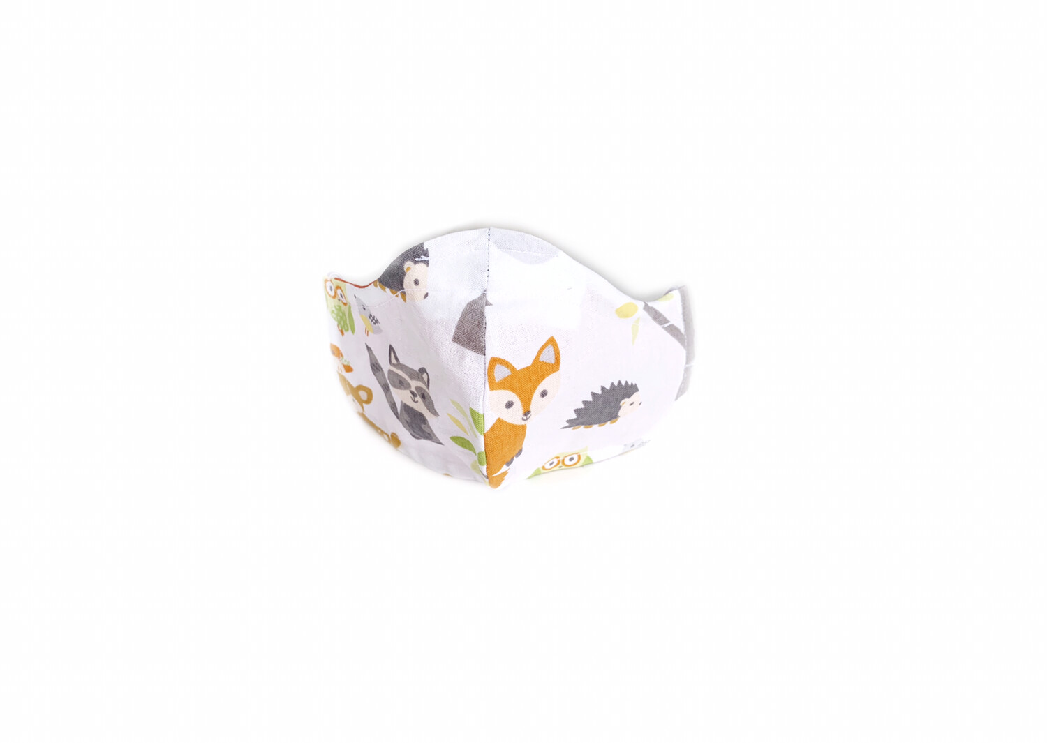 Woodland Print - Cotton Face Mask with Filter Pocket