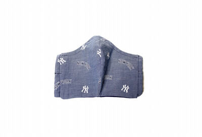 Yankees - Cotton Face Mask with Filter Pocket
