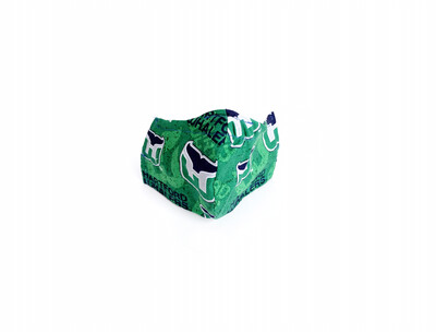Whaler's Hockey - Cotton Face Mask with Filter Pocket
