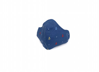 Anchors - Cotton Face Mask with Filter Pocket