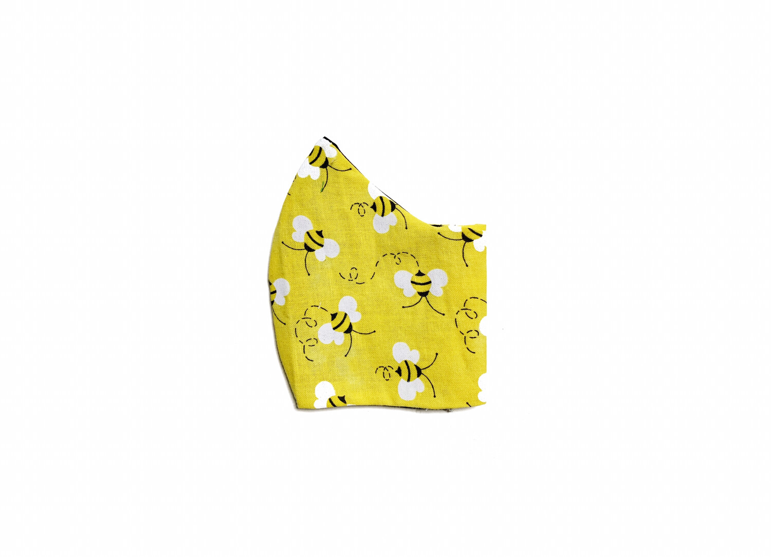 Bumble Bees - Cotton Face Mask with Filter Pocket