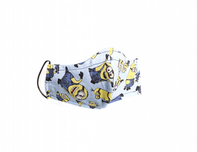 Minions - Cotton Face Mask with Filter Pocket