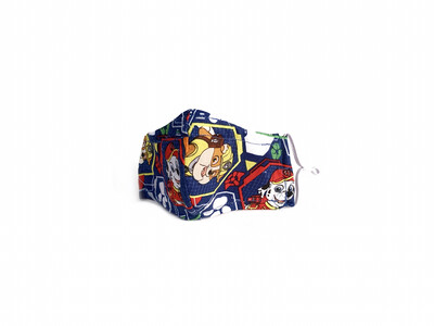 Paw Patrol - Cotton Face Mask with Filter Pocket