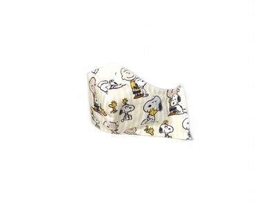 Snoopy - Cotton Face Mask with Filter Pocket