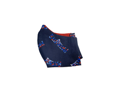 Patriots - Cotton Face Mask with Filter Pocket