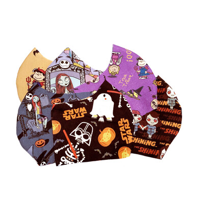 Halloween Prints - Cotton Face Mask with Filter Pocket