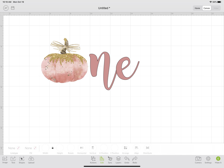 Custom Listing - 1st Birthday Pumpkin