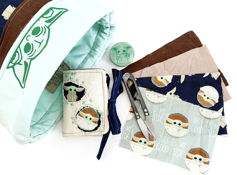 Baby Yoda Visual Mending Kit