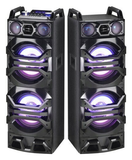 Dual Power Speaker System With Bluetooth