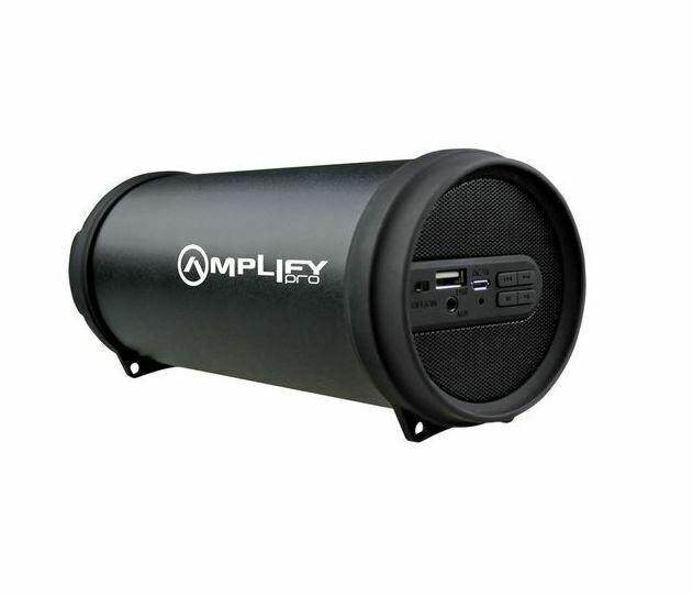 Amplify Pro Shout Series Mini Tube Bluetooth Speaker - Black