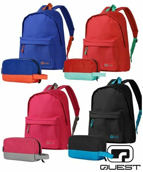 Quest Savetime Backpack with Pencil Case
