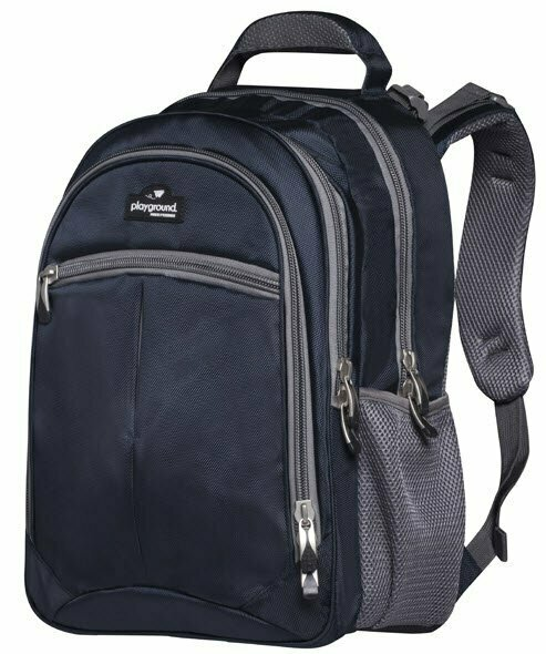 Playground Orthopaedic Backpack 27L; Navy/Grey