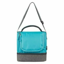 Quest Primo Lunch Bag � Grey/Turquoise