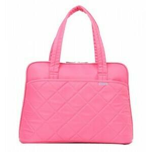 "Kingsons 14.1"" pink shoulder laptop bag - Ladies in fashion"