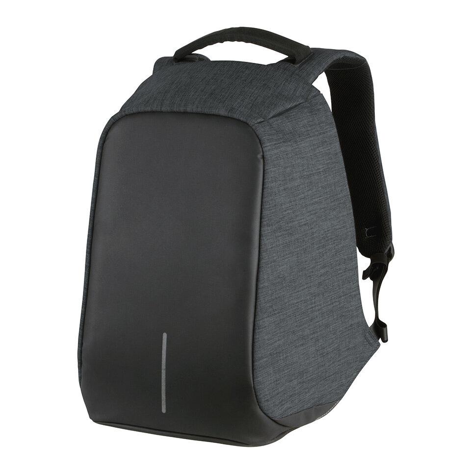Volkano Smart Laptop Backpack Charcoal - Anti-theft