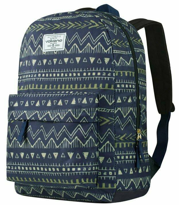 Volkano Diva Backpacks 16L - Navy Aztec