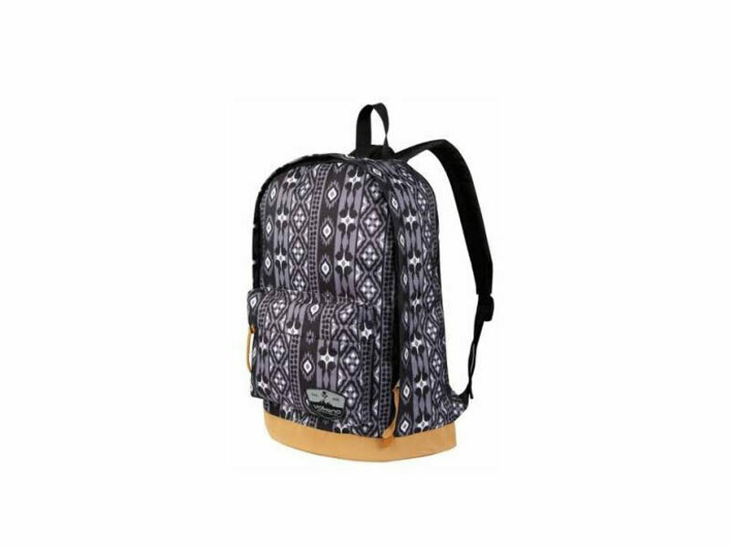 Volkano Suede Series Backpack Ethnic (Dark Grey)