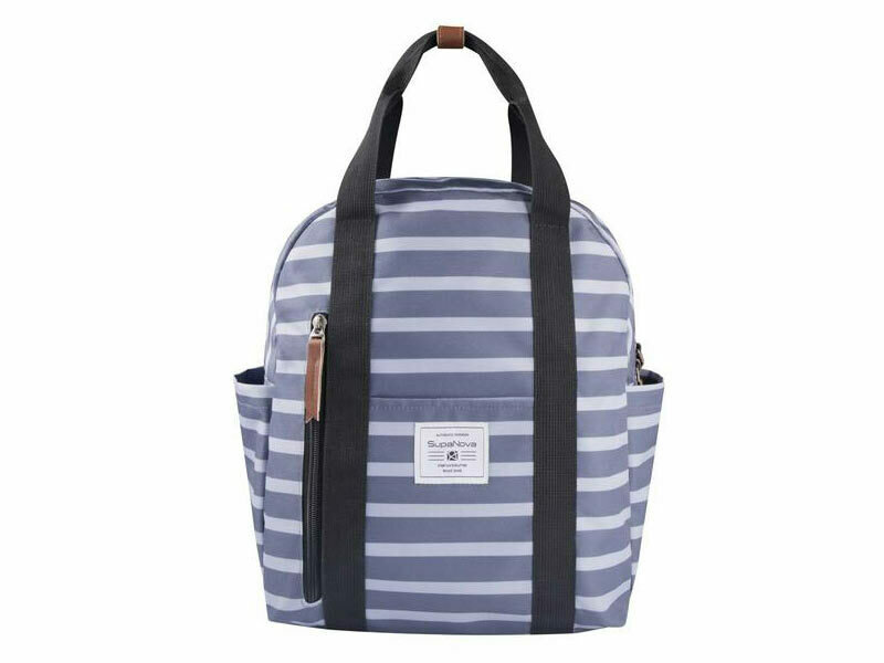 Supanova Gisele Winter Backpack- grey