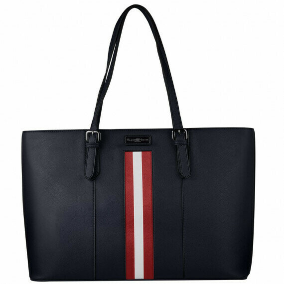 SupaNova Janey 15.6� Laptop handbag Navy