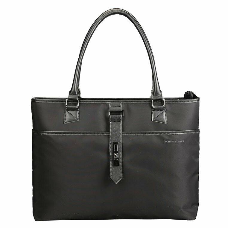 """Kingsons 15.6"""" Ladies bag Bella Series Black"""
