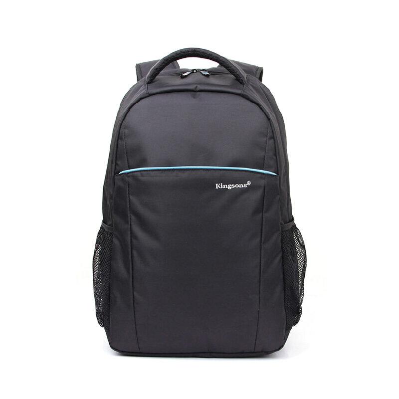 """Kingsons 16"""" laptop backpack - Blue stripe (barcode: 6941580908185)"""
