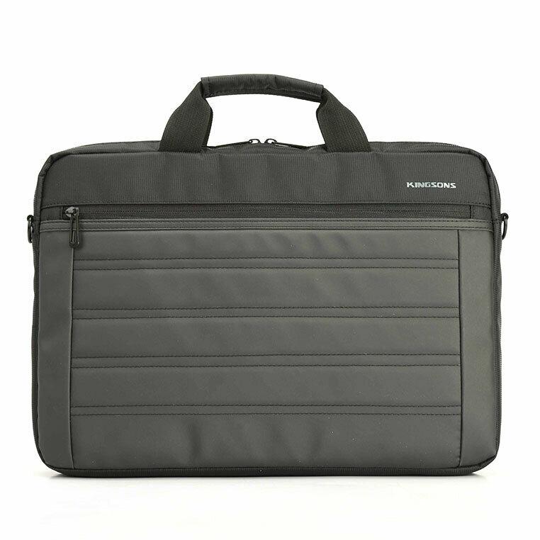 """Kingsons 15.6"""" Black shoulder bag Legacy series"""