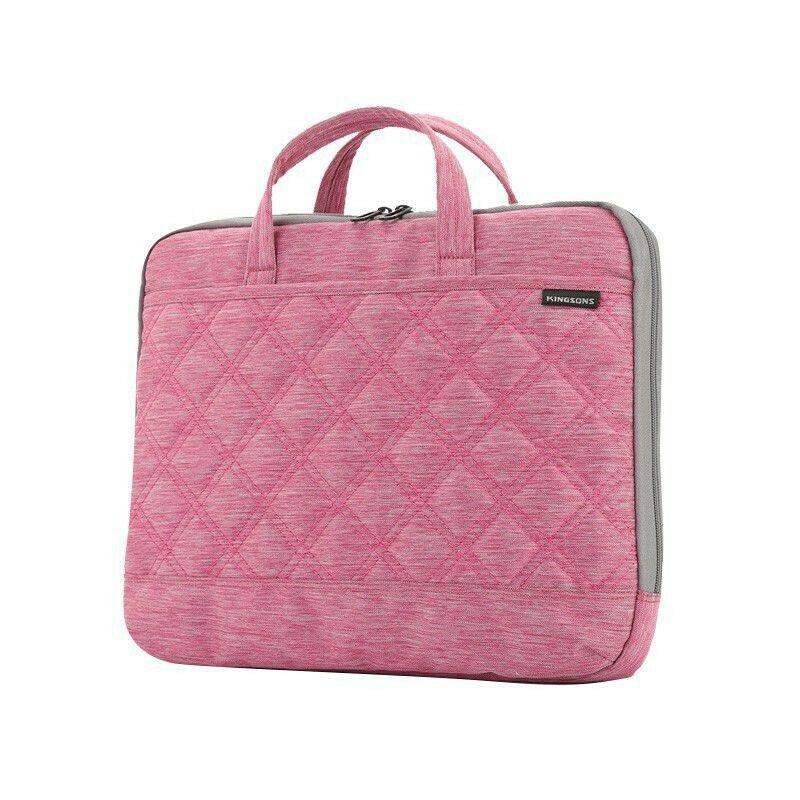 """Kingsons 15.6"""" ladies bag Trace Series PINK"""