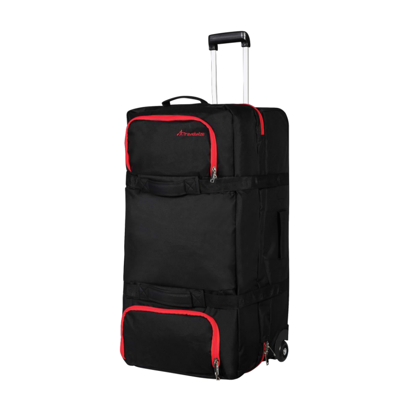 Travelwize Andy Sandwich Duffle 120L Black/Red