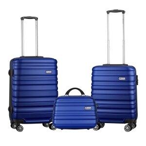 Travelwize Rio ABS 3Pc Luggage Set