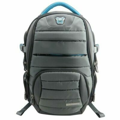 """Swissdigital 15.6"""" Laptop Bag with Lost Reminder and USB Port"""