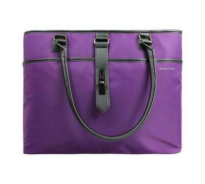 """Kingsons 15.6"""" Ladies bag Bella Series - PURPLE"""