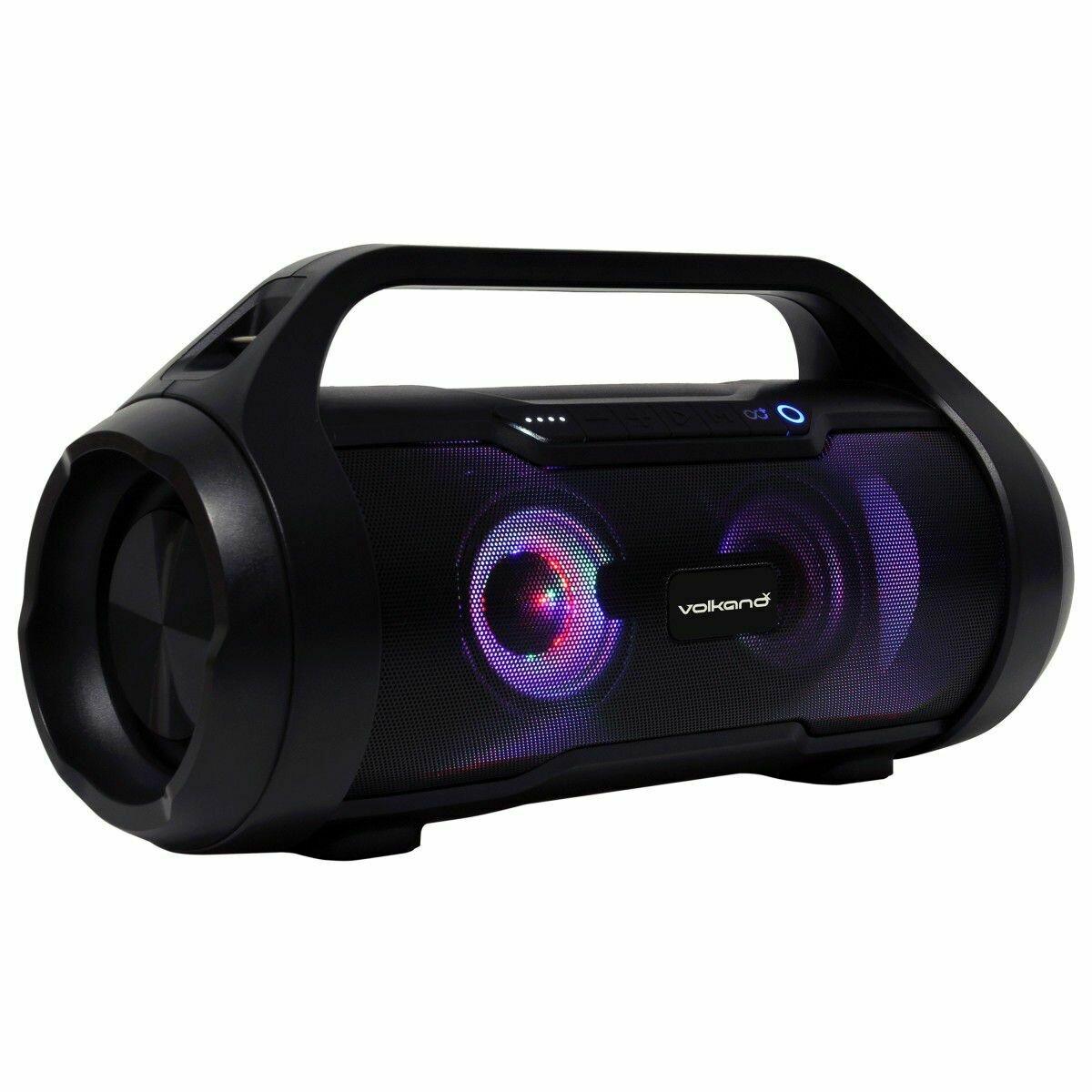 VolkanoX Cobra Series Bluetooth Speaker - Black