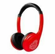 Pro Bass Elevate series Auxillary Headphone- Red