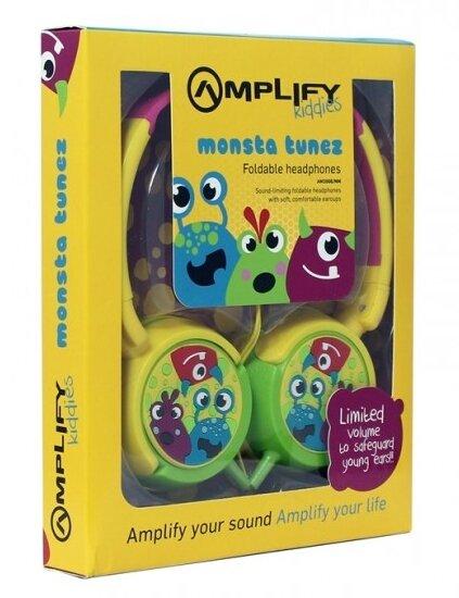 Amplify Kiddies - Monsta Tunez Volume Limiting Headphones