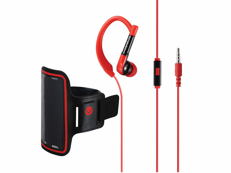 Amplify NEW Revolutionary in-earphones Black and Red