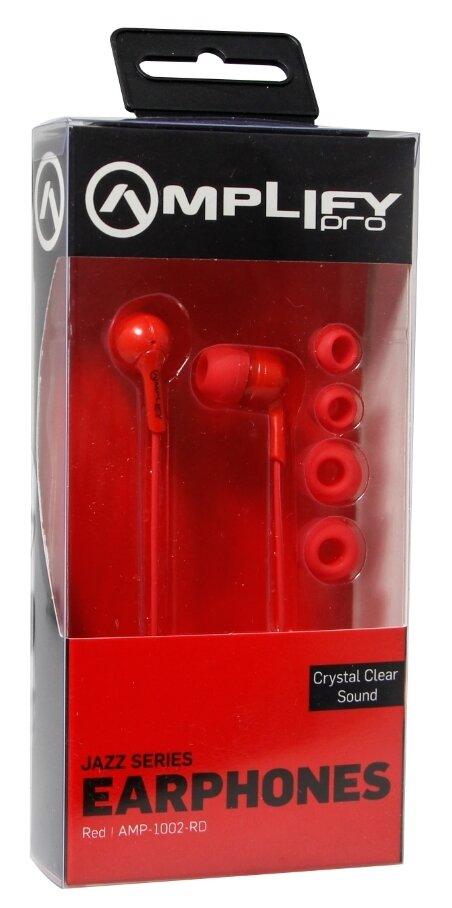 Amplify Pro Jazz series earphones - Red
