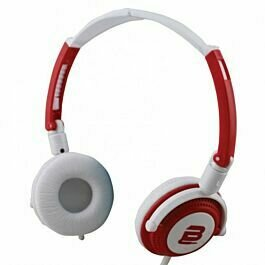 Bounce Swing Series Headphones with Mic Red/White