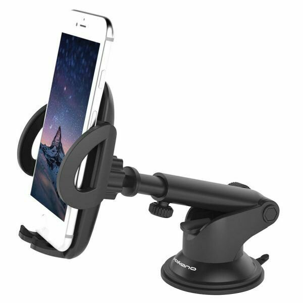 Volkano Extend series car phone holder - black
