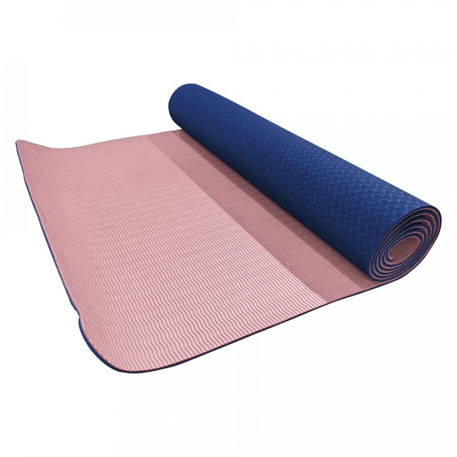 Volkano Active Non Slip TPE Yoga Mat- Pastel Pink