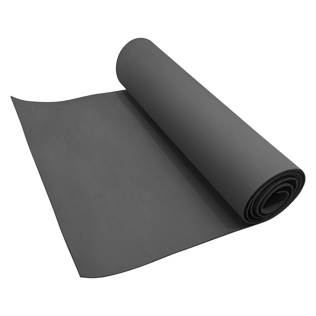 Volkano Active PVC Yoga Mat - Gunmetal Grey