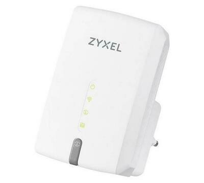 ZYXEL WRE6602 Wireless Dual Band AC1200 Range Extender