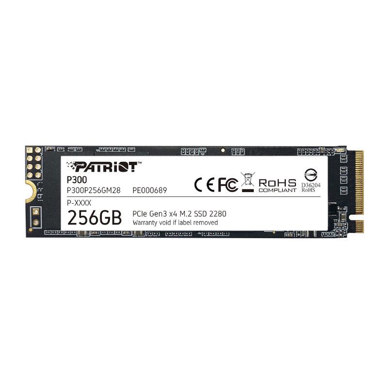 Patriot P300 256GB M.2 PCIe NVMe SSD
