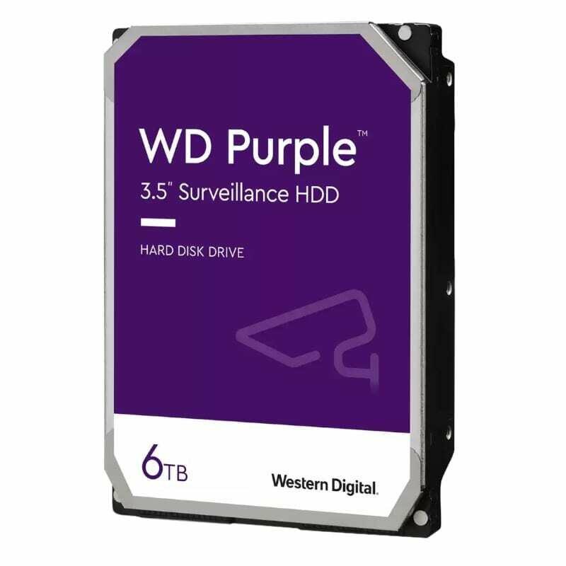 WD Purple 6TB 3.5 SATA 64MB