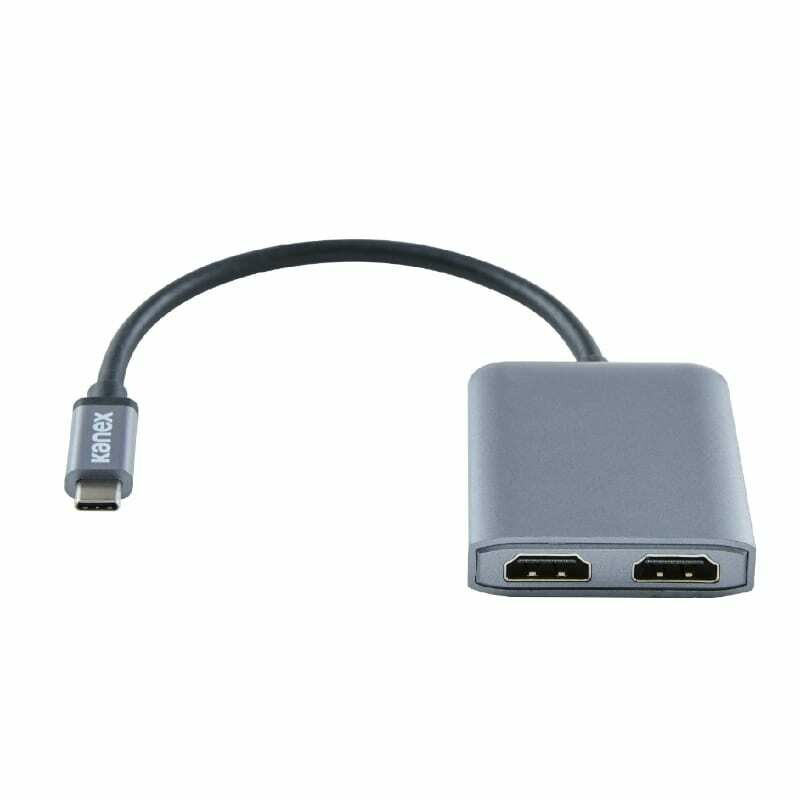 Kanex USB-C to Dual HDMI Adapter