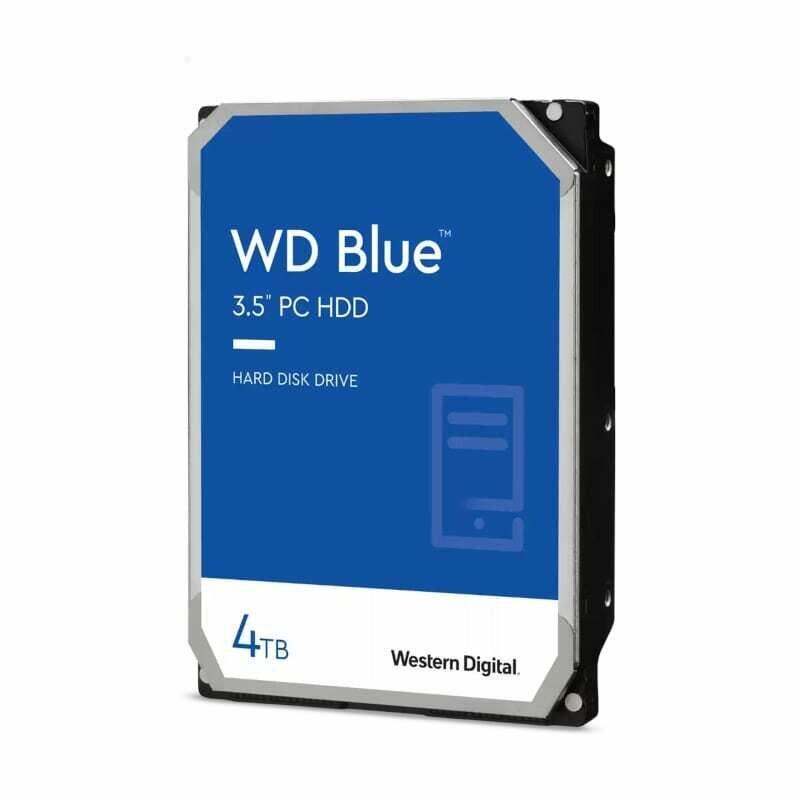 WD Blue 4TB 64MB 3.5 SATA HDD