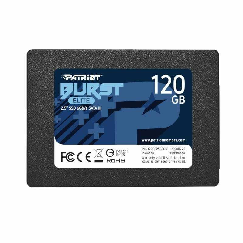 Patriot Burst Elite 120GB 2.5 SSD